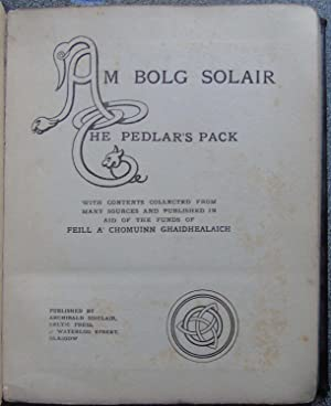 Am Bolg Solair: The Pedlar's Pack