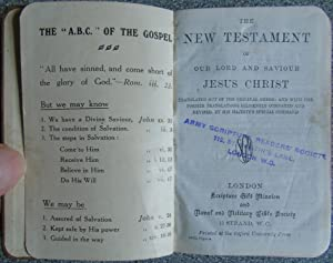The New Testament Of Our Lord and: Anon.