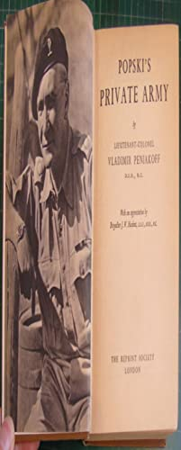Popski's Private Army: Lieutenant-Colonel Vladimir Peniakoff