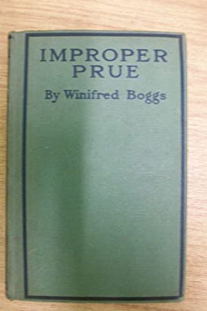 IMPROPER PRUE: WINIFRED BOGGS