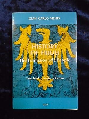 HISTORY OF FRIULI: GIAN CARLO MENIS