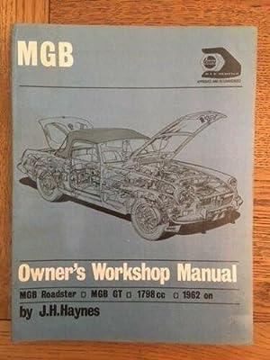 haynes - mgb owners workshop manual - AbeBooks