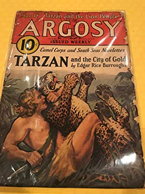 ARGOSY Mar 12 1932 TARZAN and the CITY OF GOLD