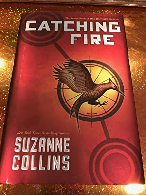 Catching Fire the second book of the Hunger Games