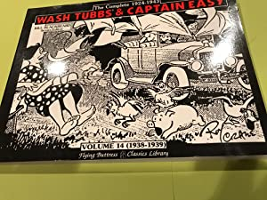 Wash Tubbs and Captain Easy VOL 14 1938-1939