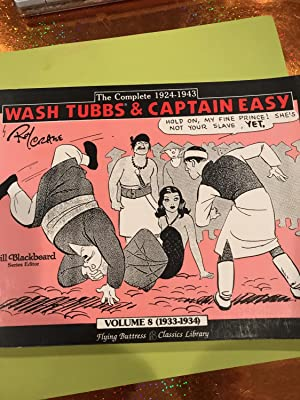 Wash Tubbs and Captain Easy VOL 8 1933-1934