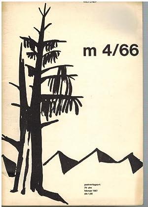 m 4 / 66 Blätter für Jugendbildung