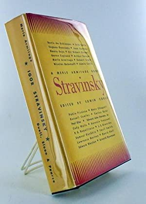 STRAVINSKY: Merle Armitage) CORLE, Edwin (Editor)