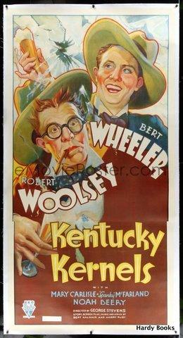 Movie Poster) KENTUCKY KERNELS: Wheeler & Woolsey