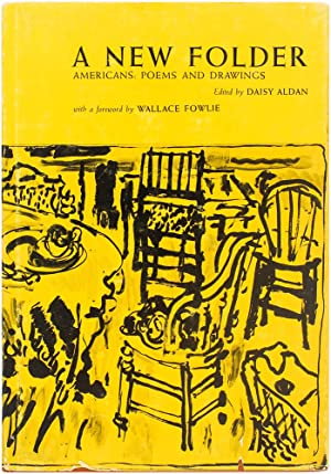 A New Folder, Americans: Poems and Drawings (Signed Limited Edition)