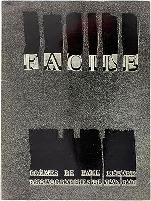 Facile: Poèmes de Paul Éluard, Photographies de: MAN RAY and