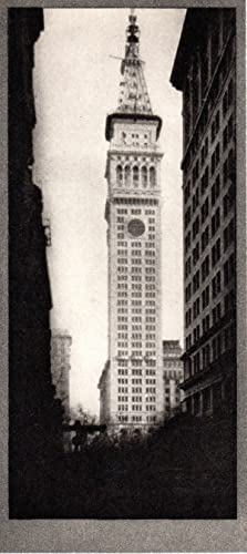 The Metropolitan Tower: Photogravure from Alvin Langdon Coburn's New York