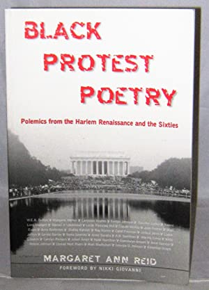 Black Protest Poetry: Polemics from the Harlem Renaissance and the Sixties