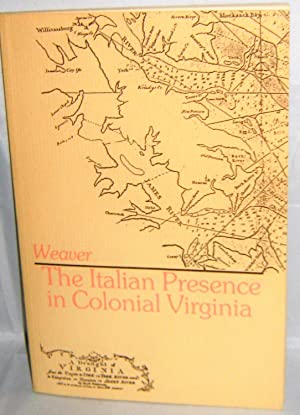 The Italian Presence in Colonial Virginia