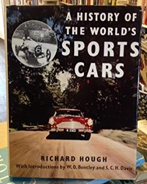 A HISTORY OF THE WORLD'S SPORTS CARS: Richard Hough