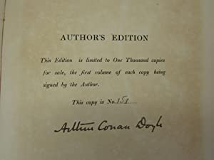 Works [The Author's Edition] Complete in 12: DOYLE, Arthur Conan