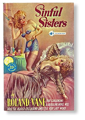 Sinful Sisters (Archer Book No. 52, Sleeze: Vane, Roland (pseudonym