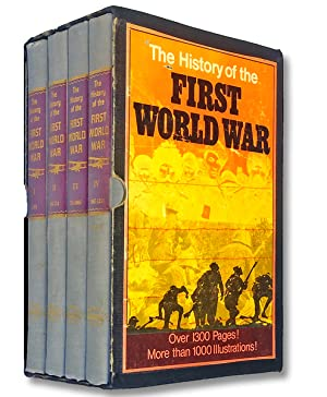 The History of the First World War. Commemorative Edition (Slipcased 4 Volume Set)