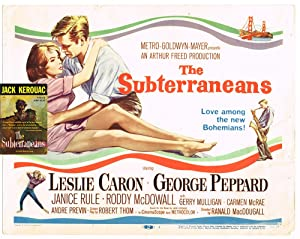 The Subterraneans (Beat Generation, Lobby Card, Books into Film)