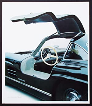 55 Mercedes Benz 300 Sl Interior Cleworth Gullwing Signed