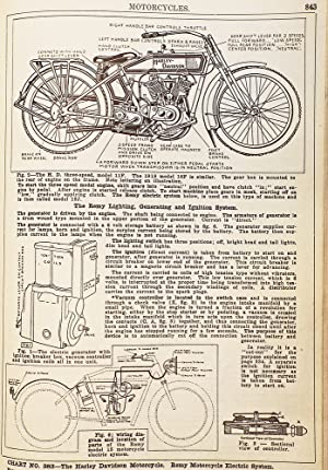 Dyke's Automobile and Gasoline Engine Encyclopedia. Containing 532 Charts . Trucks, Tractors, Air...