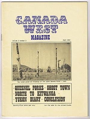 Canada West Magazine : Vol. 1 No.: Barlee, N.L. (Bill)
