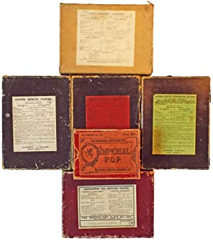 Small Collection of Camera Dry Plate & P.O.P. Boxes (19th Century Photographica)