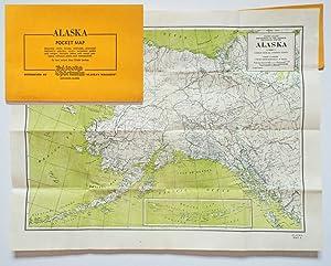 Alaska Pocket Map : Showing Cities, Towns,: The Alaska Sportsman