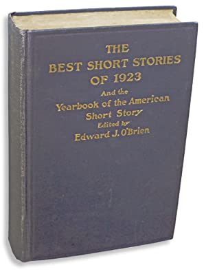 The Best Short Stories of 1923 and: Hemingway, Ernest ;