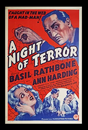 A Night of Terror (Original Film Poster)