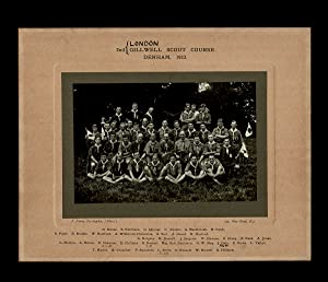 [Gilwell Park, Boy Scouts] 2nd London Gillwell Scout Course. Denham, 1923