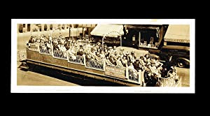 WW II era B.C. Electric Railway Co. Observation Car Photograph