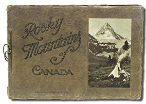 The Canadian Pacific Rockies : A Series of Twenty-Four Hand-Colored Vandyck Photogravures. [cover...