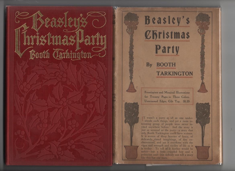 Beasley's Christmas party Tarkington, Booth Near Fine Hardcover