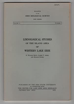 Limnological Studies of the Island Area of Western Lake Erie: Britt, N. Wilson & James T. Addis & ...