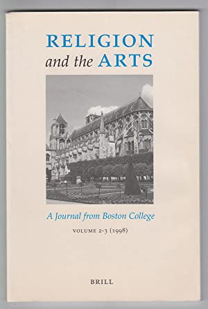 Religion and the Arts: a Journal from Boston College (Volume 2-3, 1998) [Raymond Carver Issue]