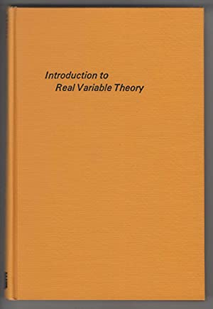 Introduction to real variable theory: Saxena, Subhash Chandra