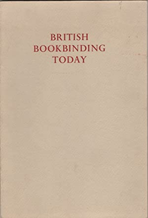 British Bookbinding Today / with an Introduction by Edgar Mansfield