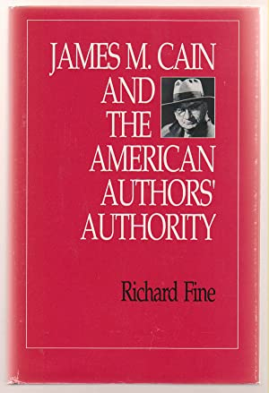 James M. Cain and the American Authors' Authority