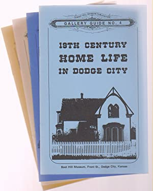 Four Dodge City Gallery Guides (1, 2, 3, and 4) Dodge City / Historic Front Street / Cattle and W...