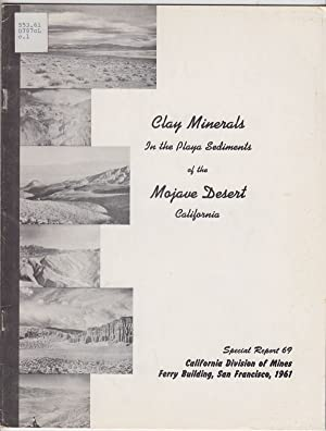 Clay Minerals in the Playa Sediments of the Mojave Desert, California