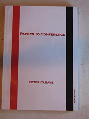 Papers to Conference : A collection of mostly old but some new work - Fourth Edition