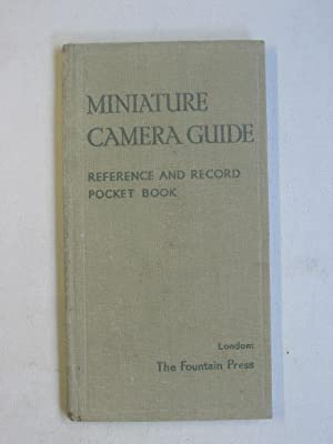 Miniature Camera Guide: Reference and Record Pocket Book
