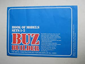 Buz Builder : Book of Models Sets 1-2: The Metal Construction Set for Builders of All Ages.: Buz ...