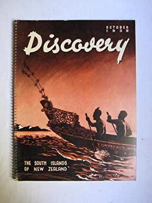 Discovery - The South Islands of New Zealand; Vol. 2, No. 25, October, 1939