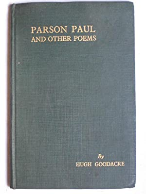 Parson Paul and Other Poems