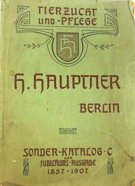 Bauer Katalog Tierzuchtgeräte Von 1954 Hauptner Solingen