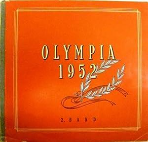 Die Olympischen Spiele 1952. Sammelbilderalbum.: Olympiade 1952) informator-Verlag Frankfurt - ...