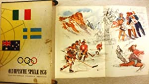 Olympische Spiele 1956. Cortina - Stockholm - Melbourne.: Olympiade 1956) Lechenperg, Harald (...