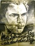 Max Schmelings Sieg - ein deutscher Sieg. Syndikat-Film. Sprecher: Arno Hellmis.: (Schmeling) ...